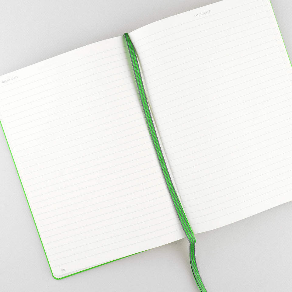 Leuchtturm 1917 Leuchtturm Notebook Fresh Green A5 | Ruled or Dot Grid