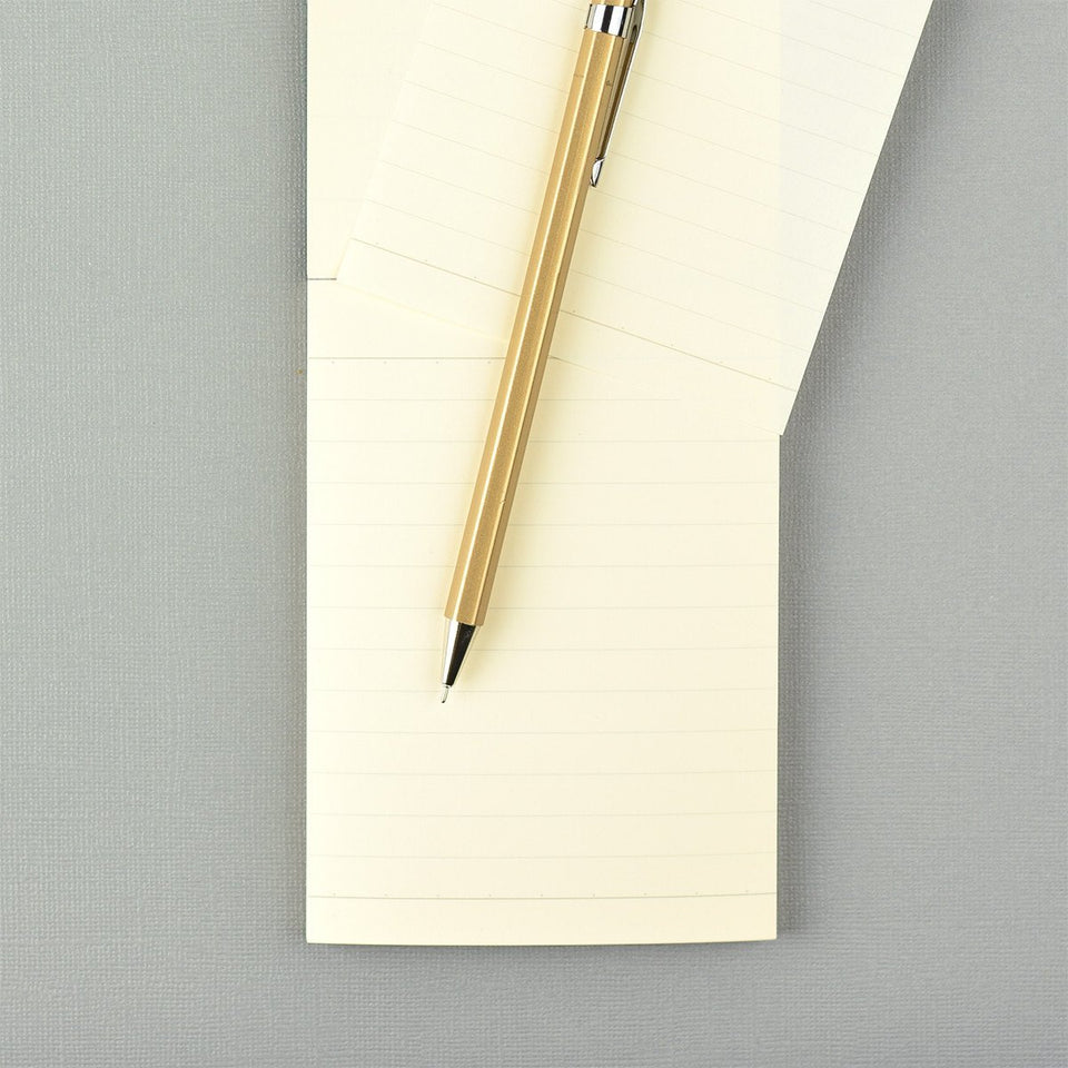 LIFE Stationery Noble B7 Memo Ruled Notepad