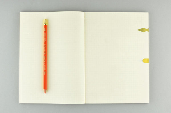 Noble Note Section (Grid) Notebook In Four Sizes