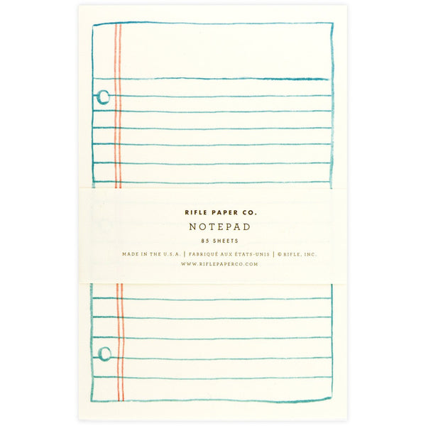Lined Paper Notepad By Rifle Paper Co.