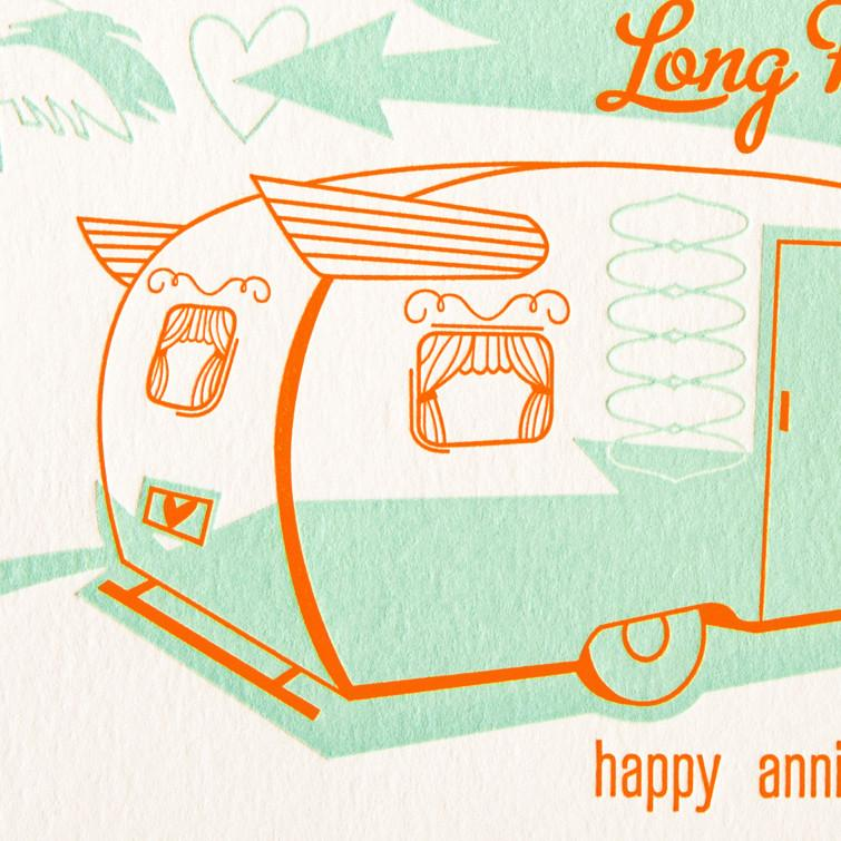 Long Haul Anniversary Card By Paper Parasol Press - 2