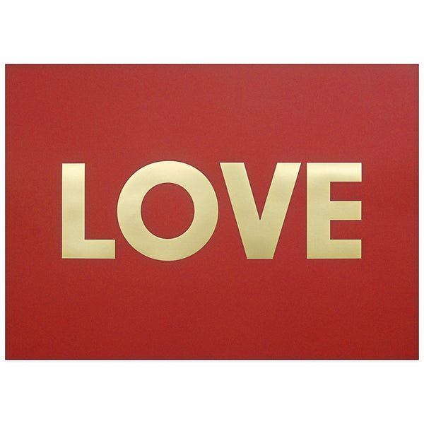 Love Print By Calm Gallery