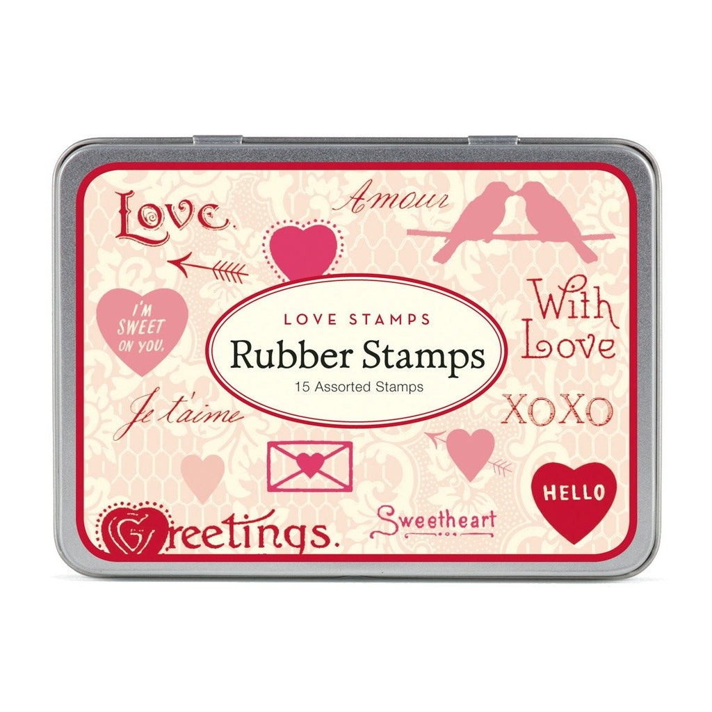 Love Rubber Stamp Set By Cavallini - 2