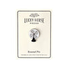 Lucky Horse Press Vintage Electric Fan Black Enamel Pin - GREER Chicago Online Stationery Shop