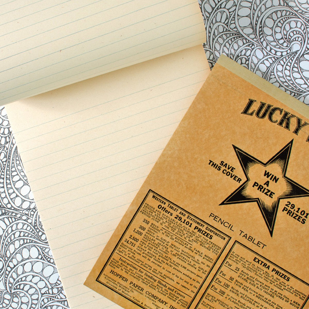 Lucky Star Vintage Tablet No. 2 - GREER Chicago Online Stationery