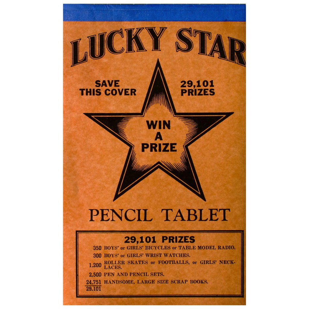 Lucky Star Vintage Tablet No. 6 - GREER Chicago Online Stationery
