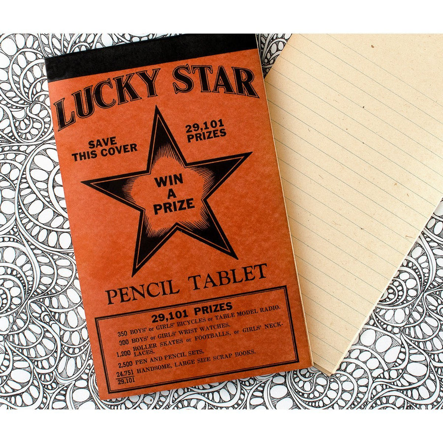 Vintage Lucky Star Tablet No. 1