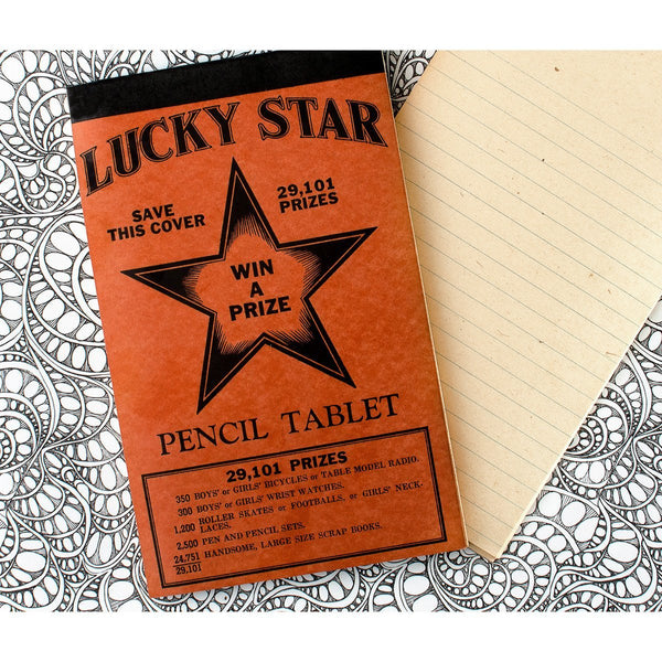 Vintage Lucky Star Tablet No. 1 - GREER Chicago Online Stationery Shop