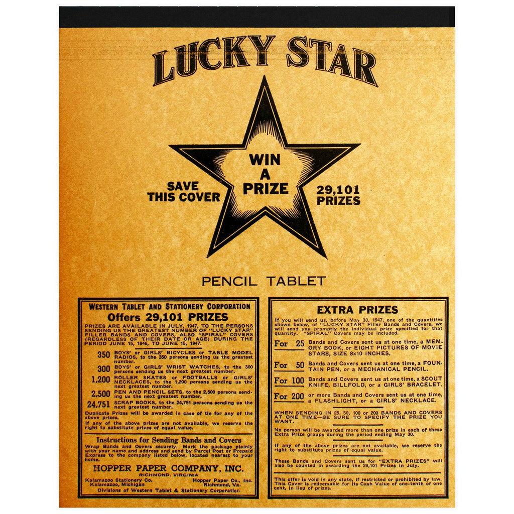 Lucky Star Tablet No. 7 By Vintage