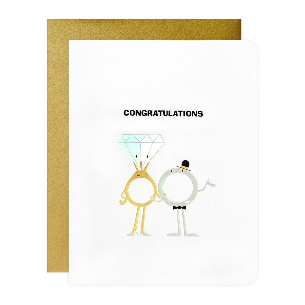Maginating With This Ring Wedding Card - GREER Chicago Online Stationery Shop