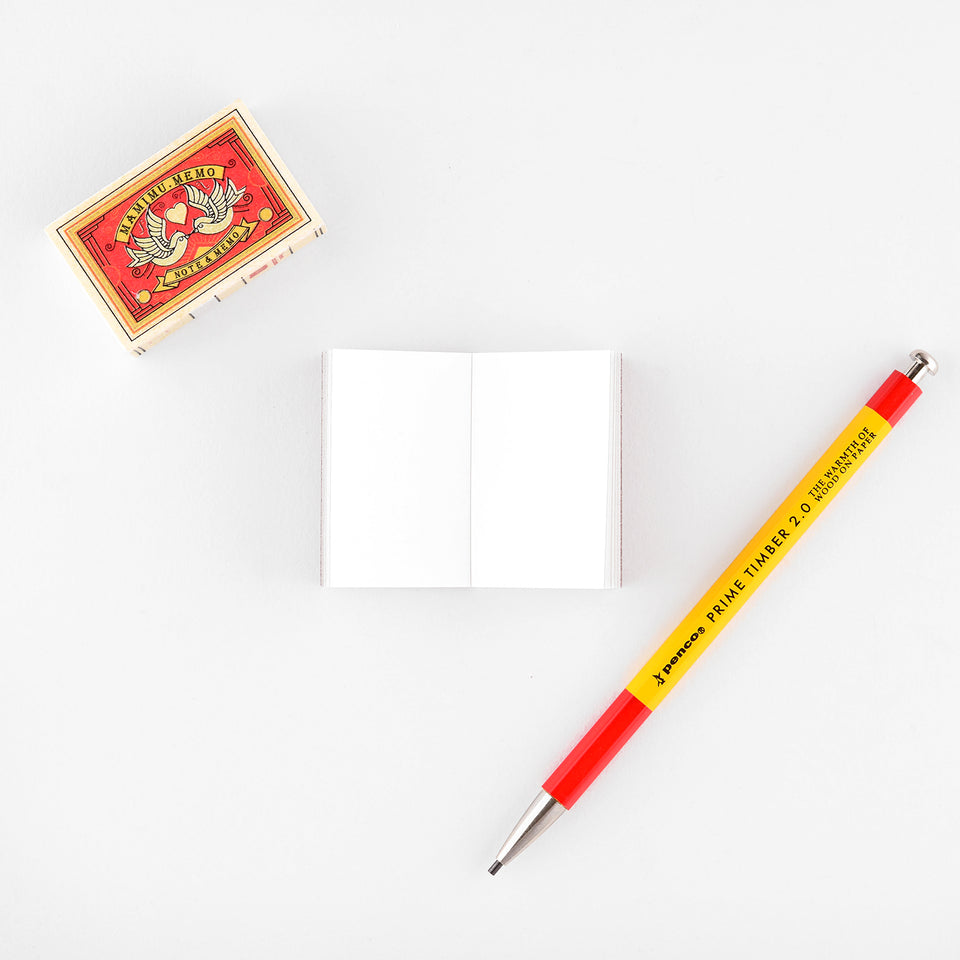 Shunkoen Mamimu European Vintage Matchbox Design Mini Memo Notebook | Eleven Designs