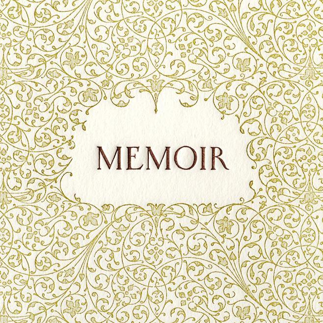 Memoir Lined Journal By Oblation Papers & Press - 2