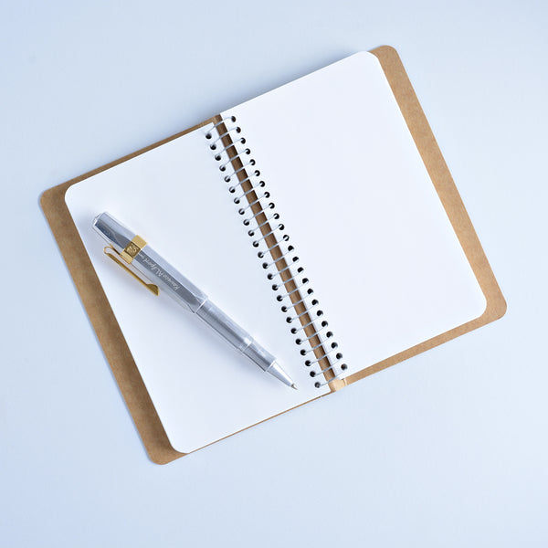 "Midori ""Polar Bear"" Spiral Ring Notebook - GREER Chicago Online Stationery Shop"