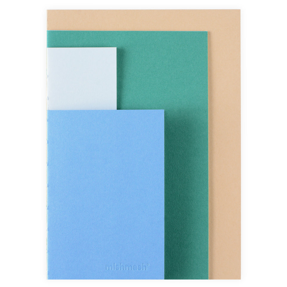 mishmash Slices Multi-Shape Notebook