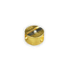 Other Designers Möbius+Ruppert Brass Double-Hole Sharpener - GREER Chicago Online Stationery Shop