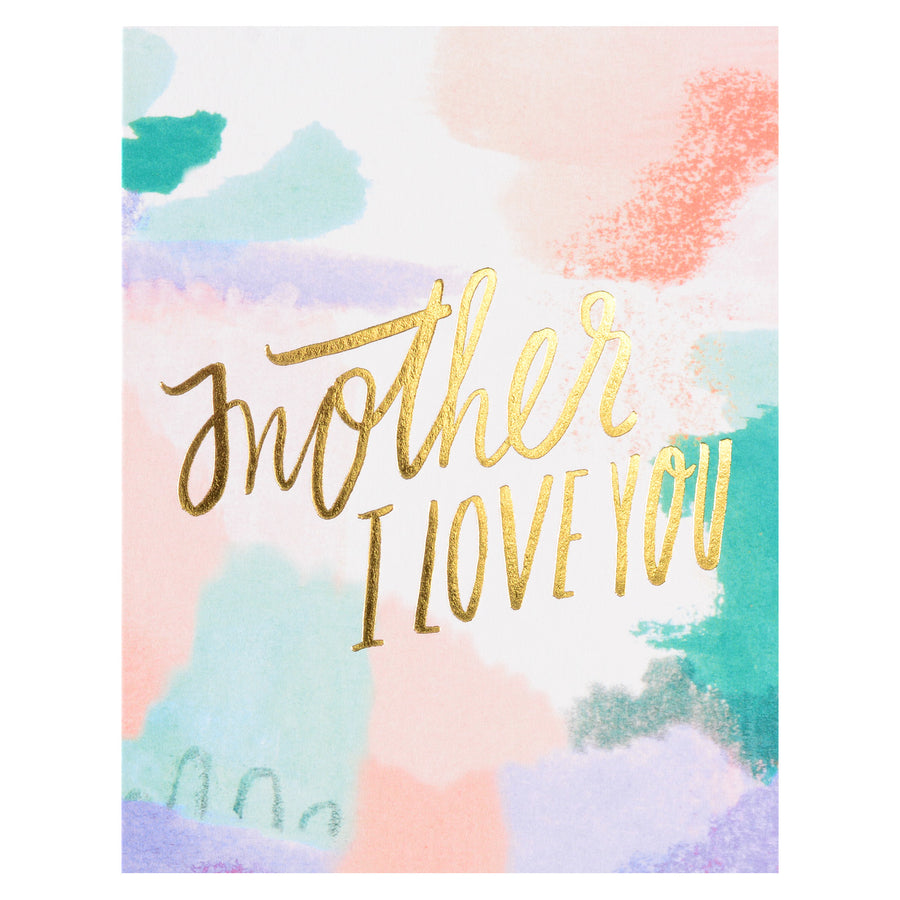 Moglea Mother I Love You Mother's Day Card - GREER Chicago Online Stationery Shop