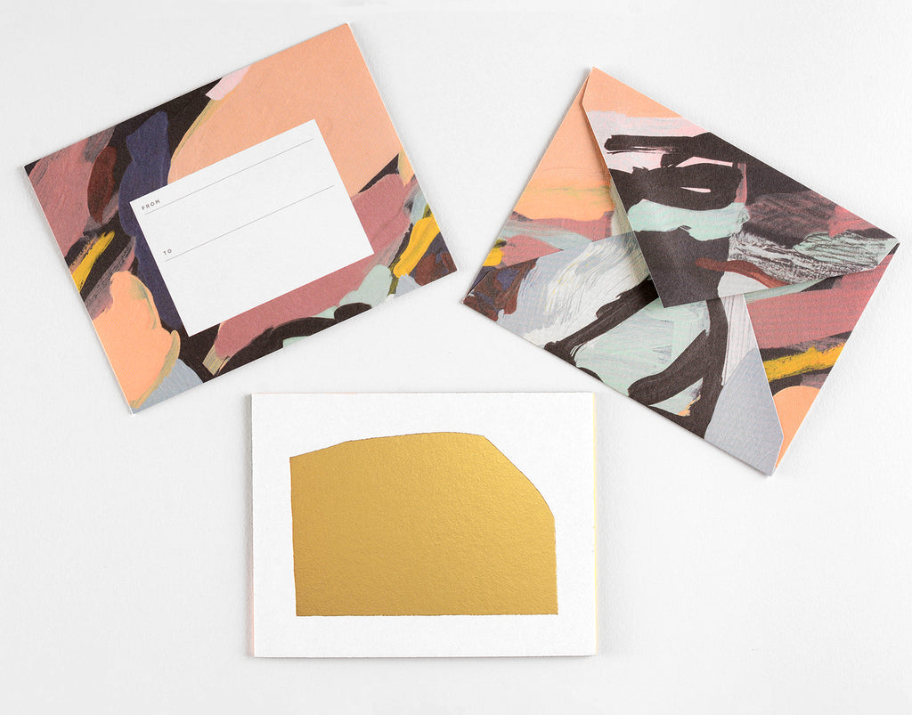 Moglea Aura Flat Note Cards Boxed
