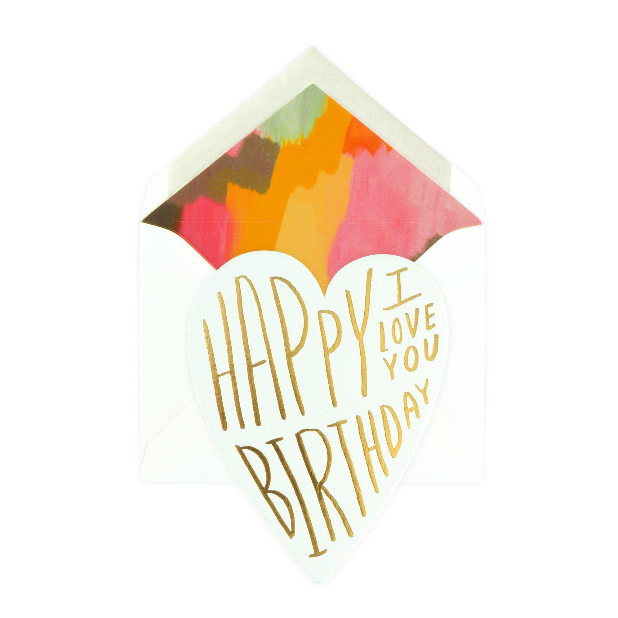 Happy Birthday I Love You Greeting Card Moglea Greer Chicago