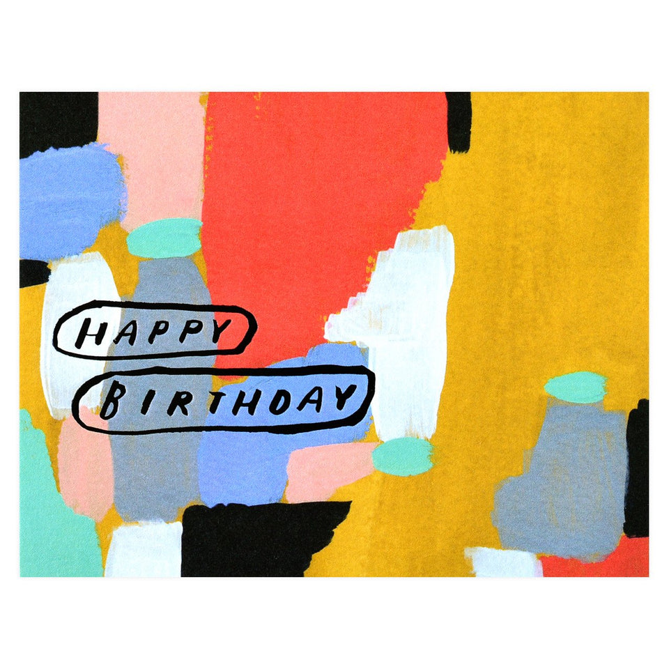 Moglea Circled Birthday Card
