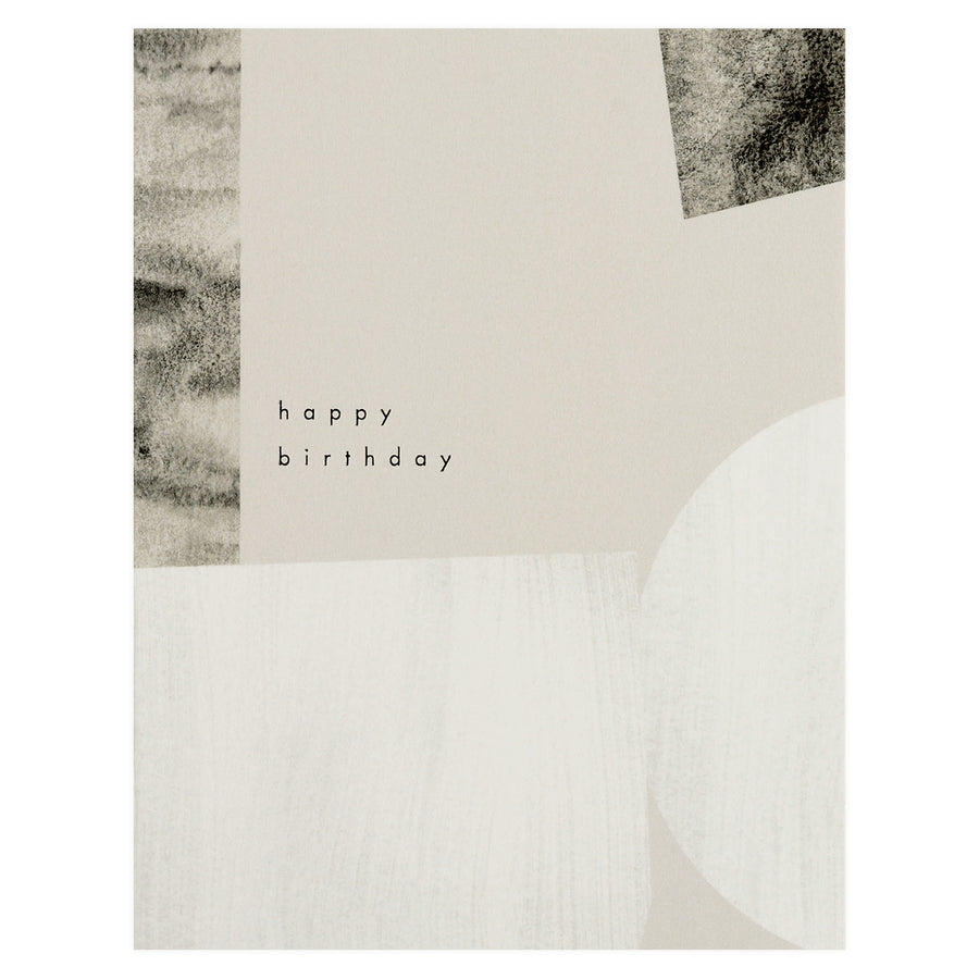 Muted Birthday Card Moglea  - GREER Chicago