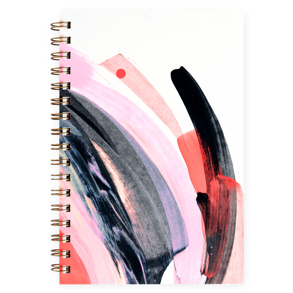 Moglea Osaka Hand Painted Journal
