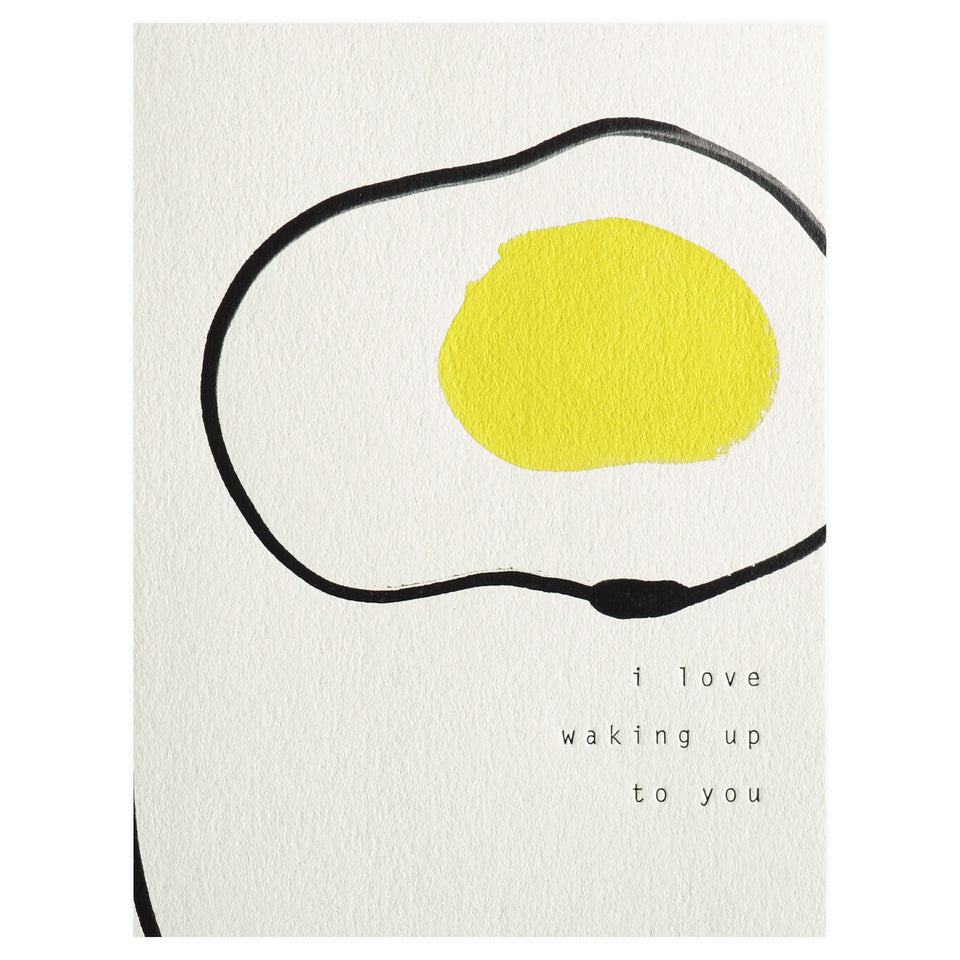 Moglea The Egg Greeting Card
