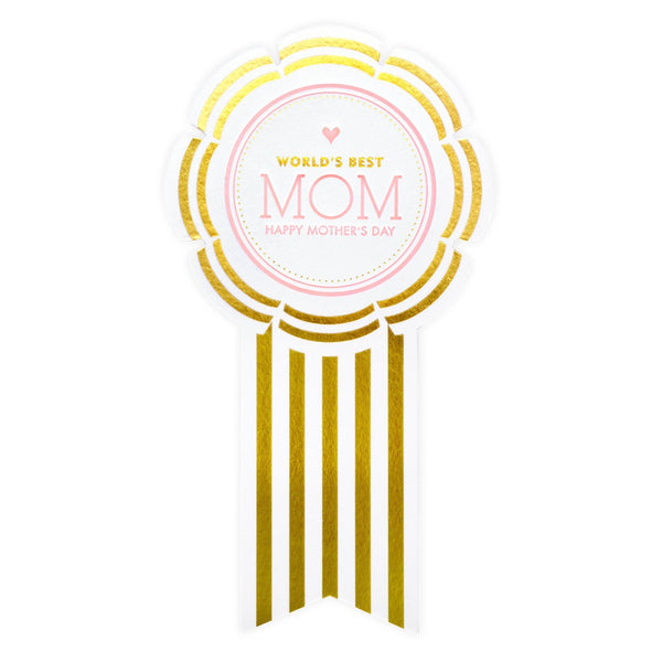 Best Mom Ribbon Mother's Day Card - GREER Chicago Online Stationery
