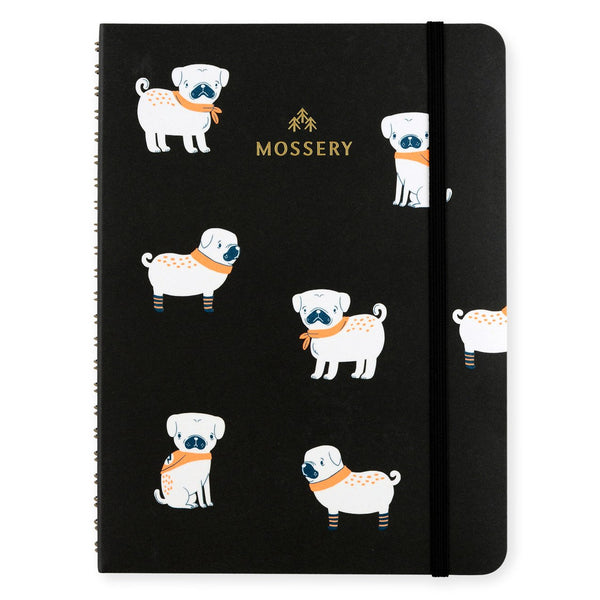 Pugs Notebook By Mossery - 1