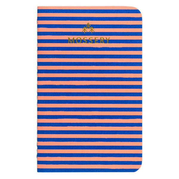 Stripes Pocket Notebook By Mossery