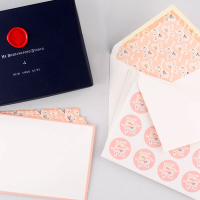 Kyoto Heritage Correspondence Set  Flat Note Cards Boxed Mr. Boddington's Studio  - GREER Chicago
