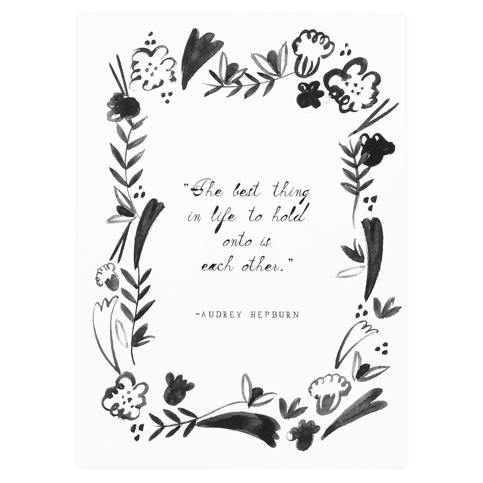 Mr. Boddington's Studio Audrey's Advice Greeting Card