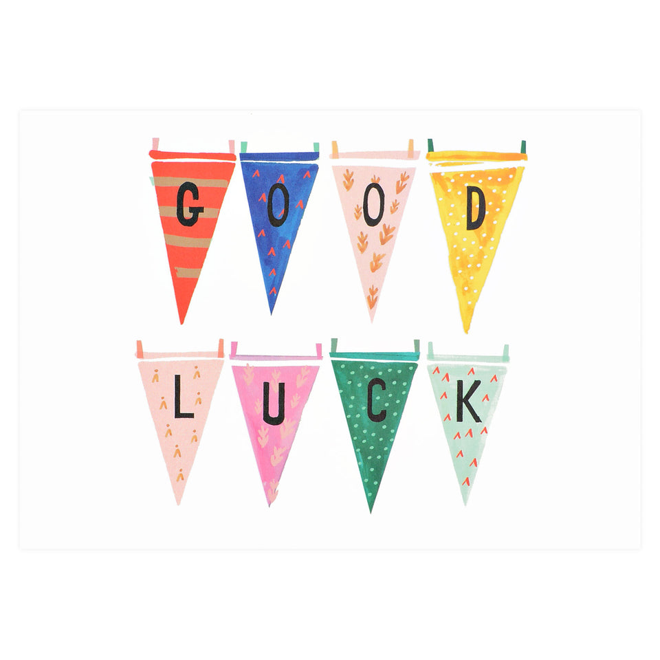 Mr. Boddington's Studio Cheering With Pennants Greeting Card