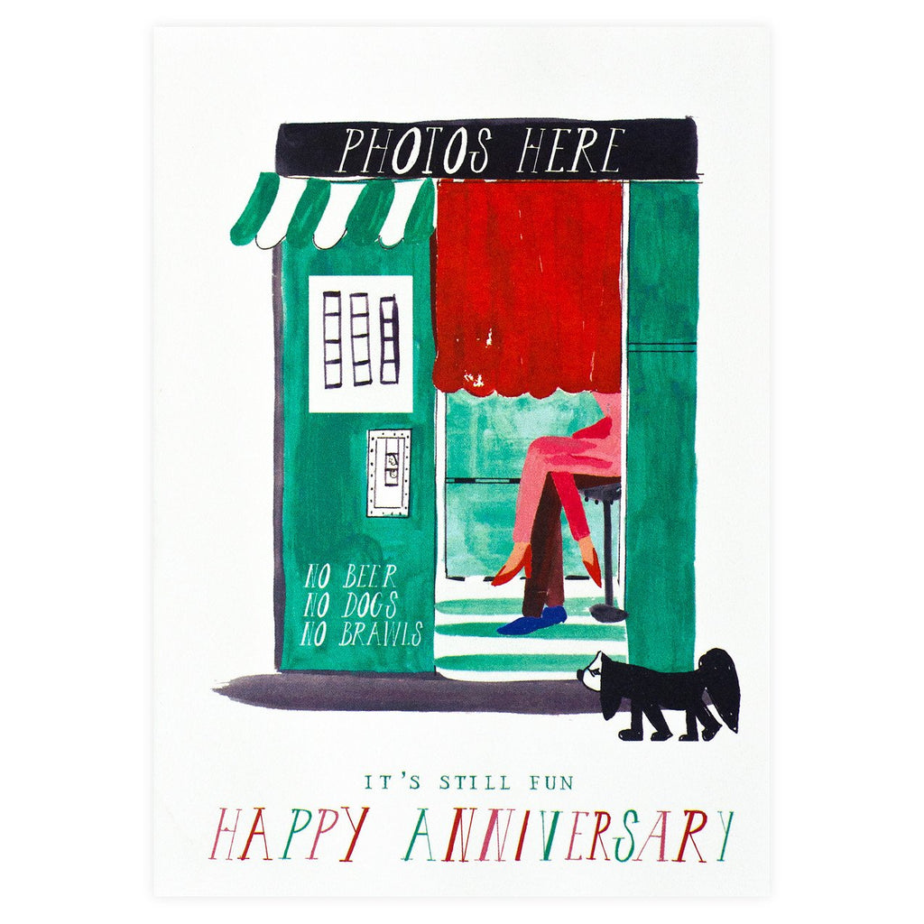 Mr. Boddington's Studio Five Seconds Anniversary Card - GREER Chicago Online Stationery Shop
