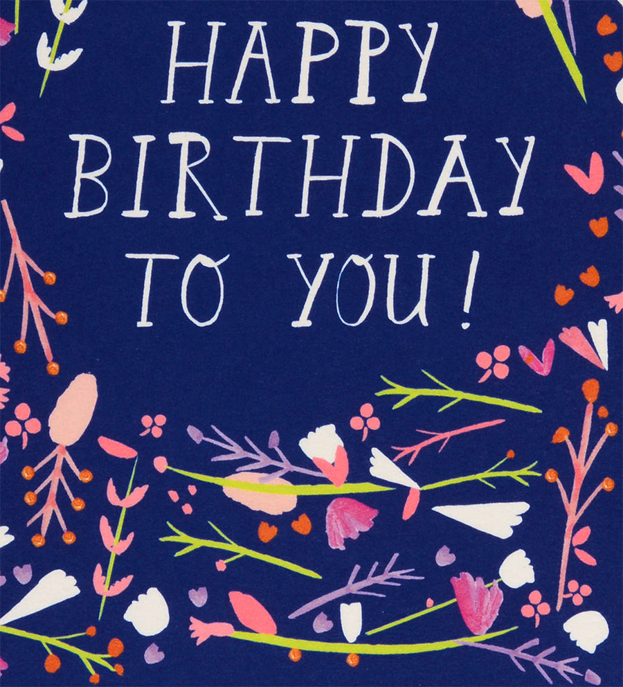 Mr. Boddington's Studio Dear Friend Happy Birthday Card