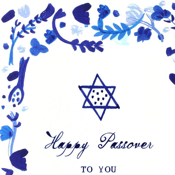 Happy Passover Greeting Card