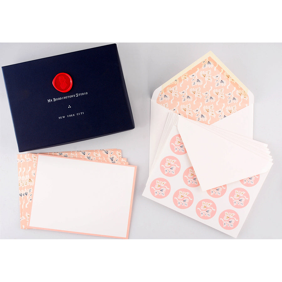 Mr. Boddington's Studio Kyoto Heritage Correspondence Set  Flat Note Cards Boxed
