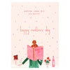 Mr. Boddington's Studio Pass the Rosé Mother's Day Card - GREER Chicago Online Stationery Shop