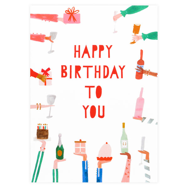 Mr. Boddington's Studio Rather Deserving Birthday Card - GREER Chicago Online Stationery Shop