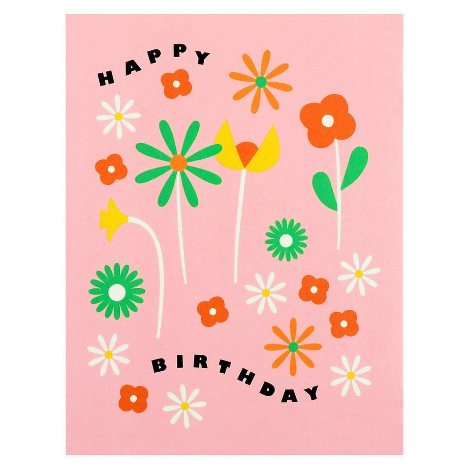 My Darlin' Happy Birthday Fleurs Greeting Card