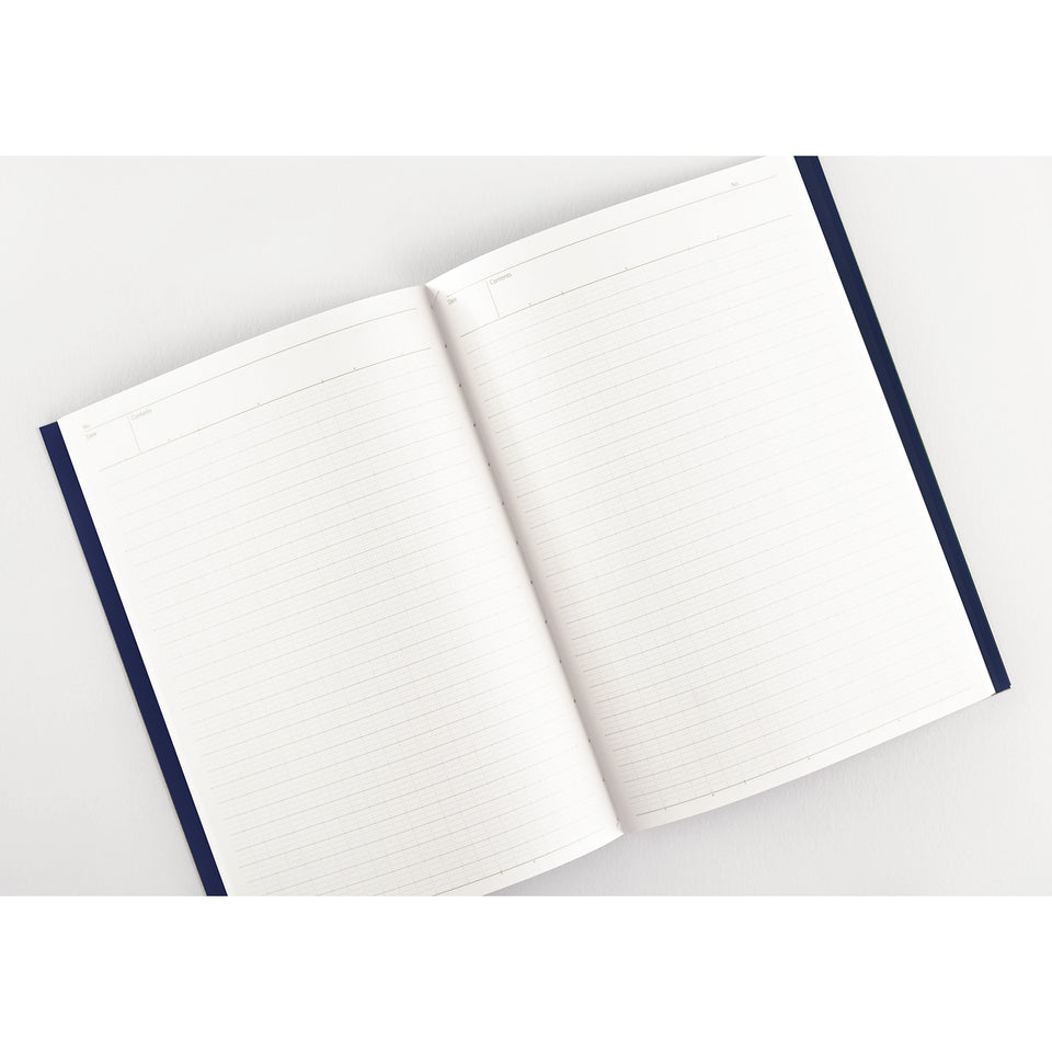 Nakabayashi Logical Prime Stitch Bound Notebook A5 or B5