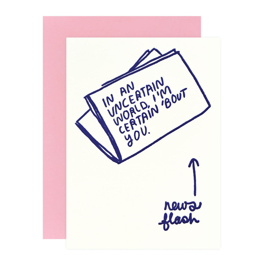 People I've Loved Newsflash Greeting Card