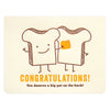Night Owl Paper Goods Pat of Butter Congratulations Greeting Card - GREER Chicago Online Stationery Shop
