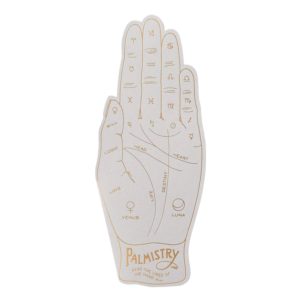 Noat Palmistry Greeting Card
