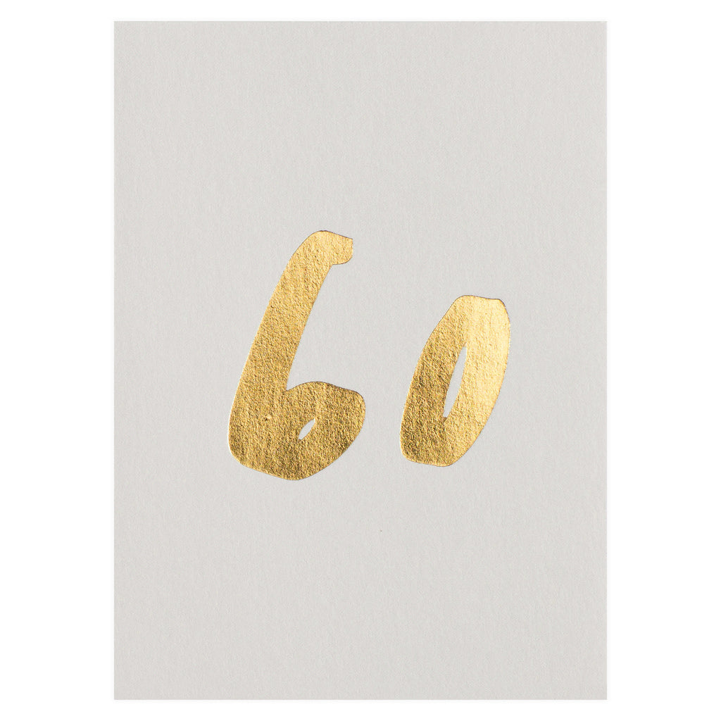 Old English Company 60th Birthday Card