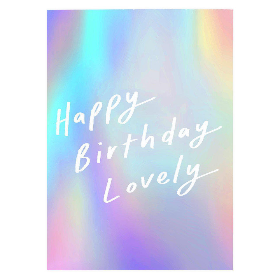 Old English Company Happy Birthday Lovely Greeting Card
