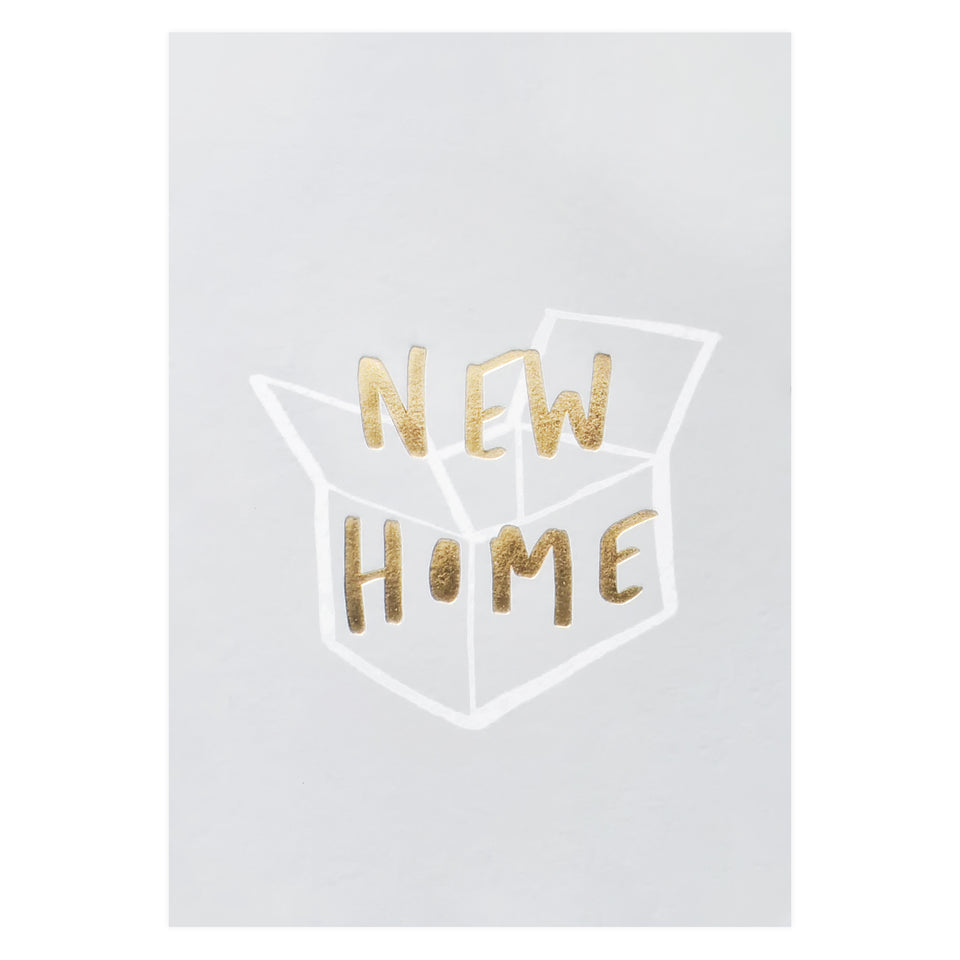 Old English Company New Home Box Card