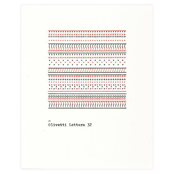 The Olivetti Pattern Series Folded Note Cards Boxed By Princeton Architectural Press - 1