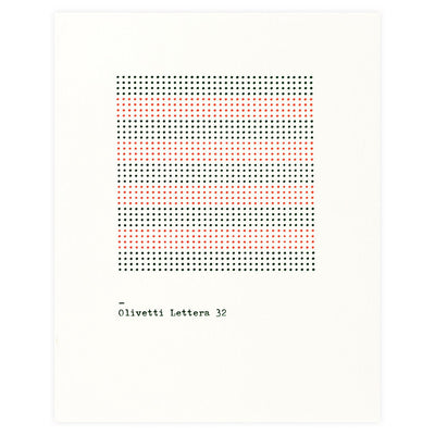 The Olivetti Pattern Series Folded Note Cards Boxed Princeton Architectural Press  - GREER Chicago