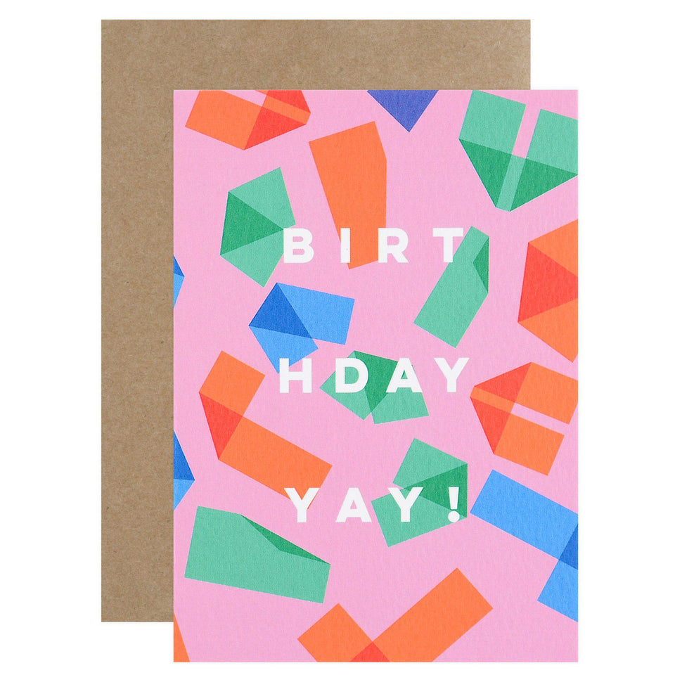 The Completist Origami Birthday Card