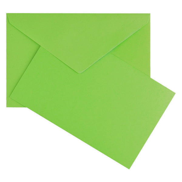 Color Vellum Small Flat Note Cards Boxed Bamboo